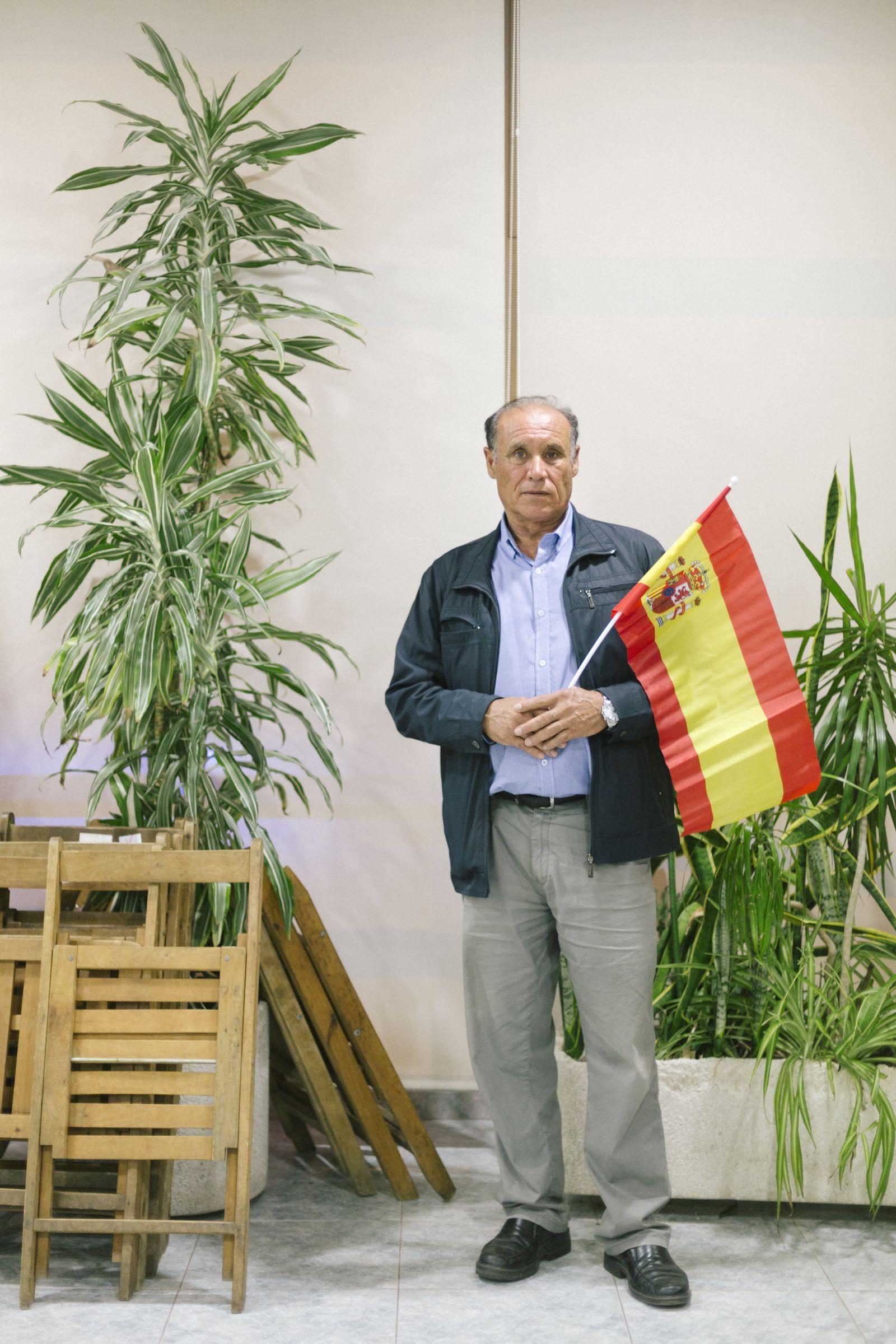 EINMALIGE VERWENDUNG Spanien/ Barcelona/ VOX/ Rechte