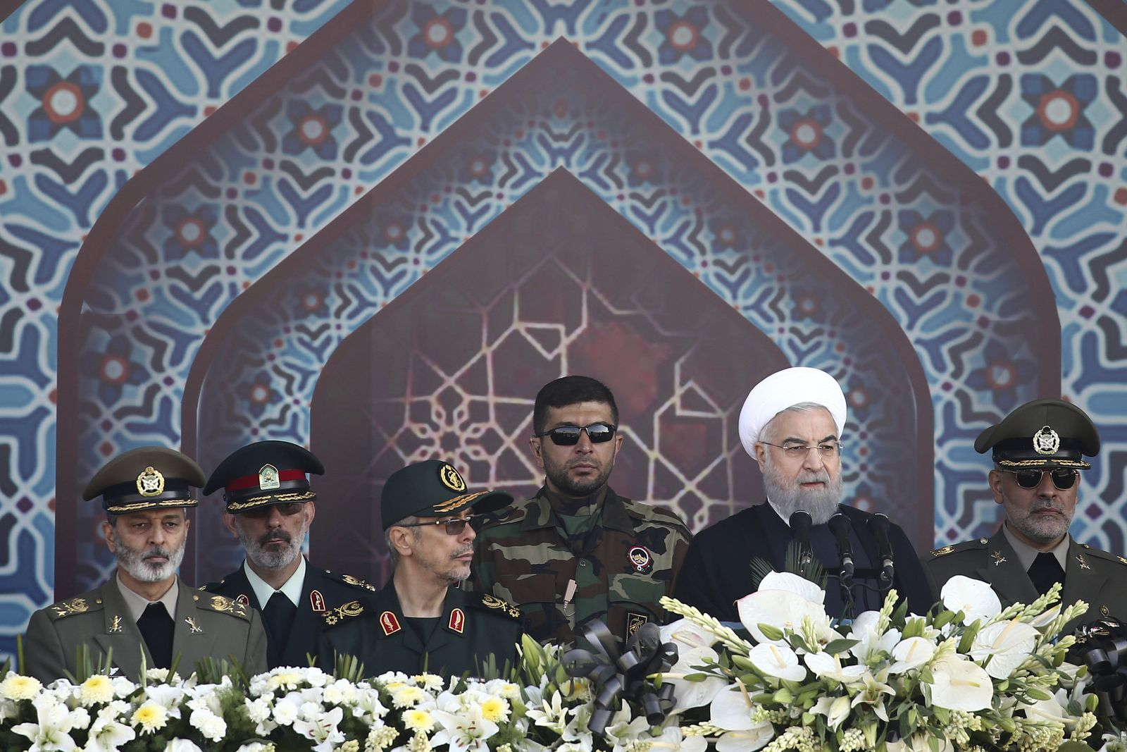Militärparade in Iran