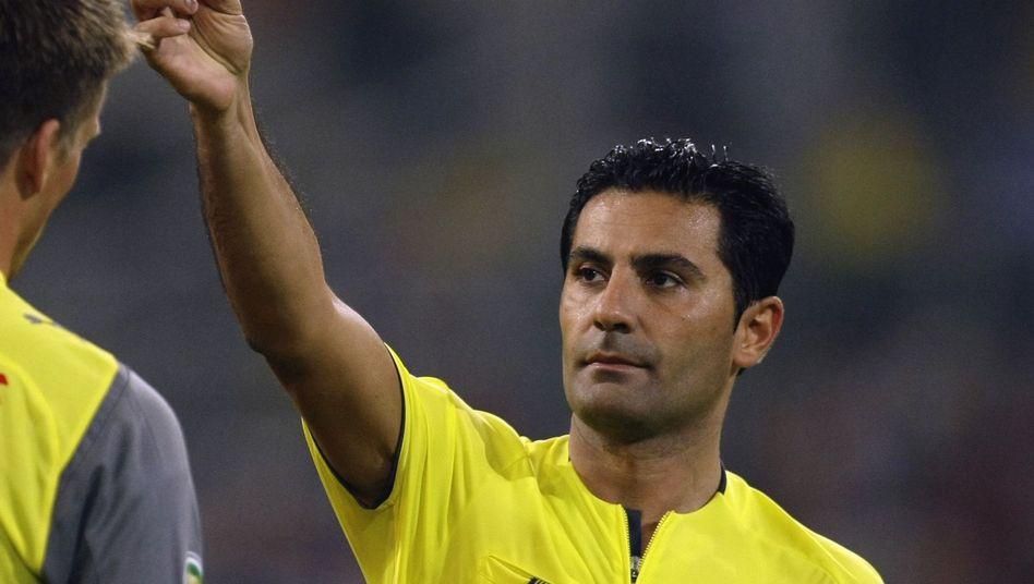 Babak Rafati in seiner Zeit als Schiedsrichter