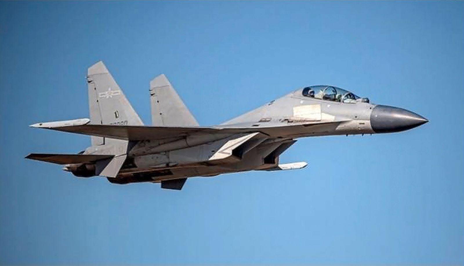 Chinesisches Kampfflugzeug