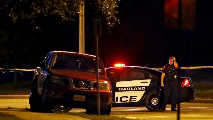 Anschlag in Texas: Schüsse auf eine Karikaturenausstellung