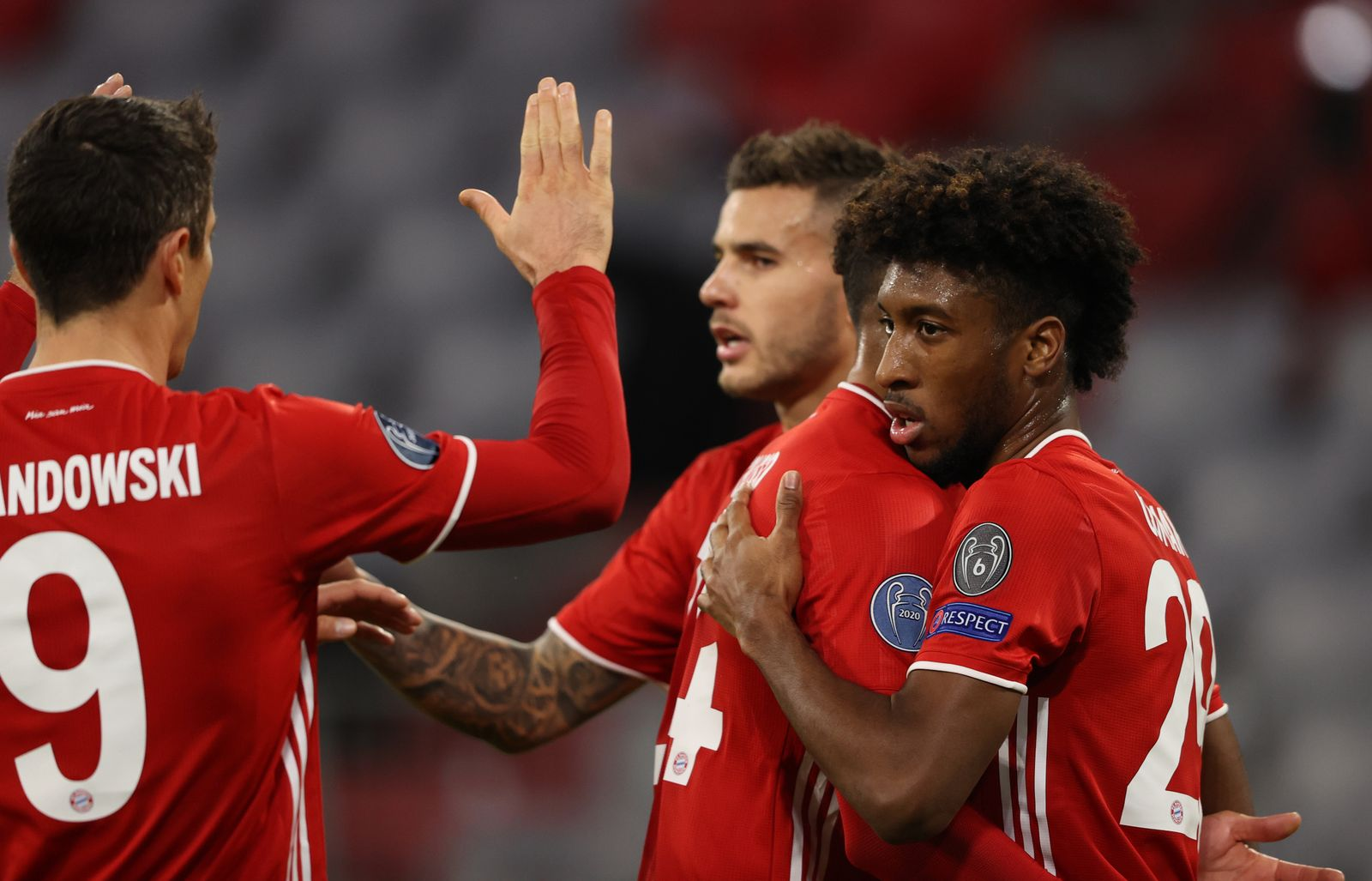 Bayern Munich vs Atletico Madrid, Germany - 21 Oct 2020
