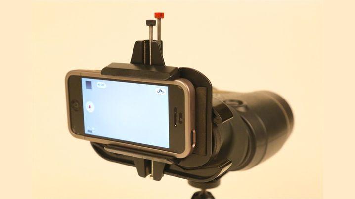 Snapzoom-Fernglasadapter: Fette Optik für schmale Telefone