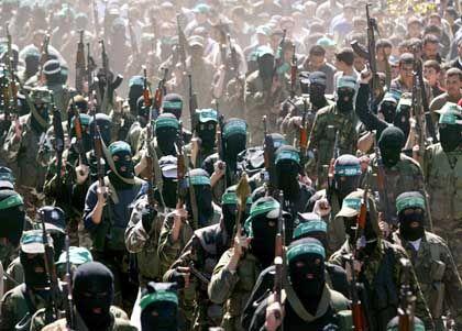 Gaza: Trauermarsch nach der Tötung Scheich Jassins