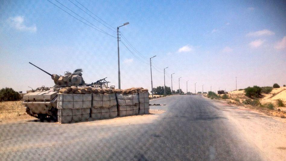 Armeeposten auf dem Sinai: Extremisten nehmen die Sicherheitskräfte ins Visier