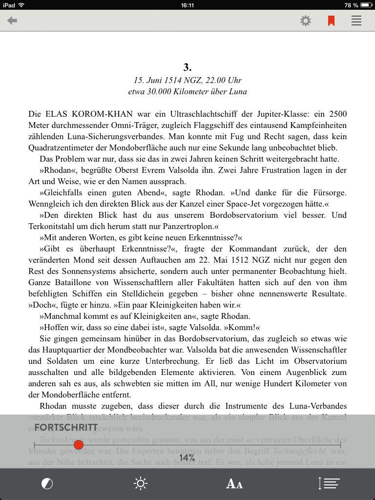 NUR ALS ZITAT Screenshot E-Book-Flatrate