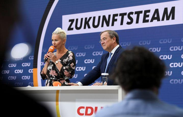 CDU-Vizevorsitzende Silvia Breher neben Armin Laschet