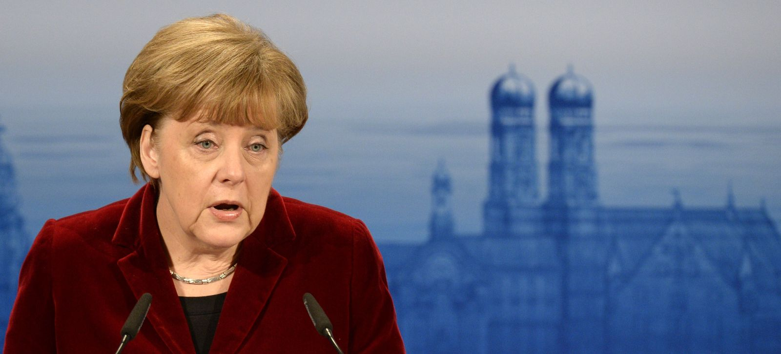 Merkel / Sicherheitskonferenz