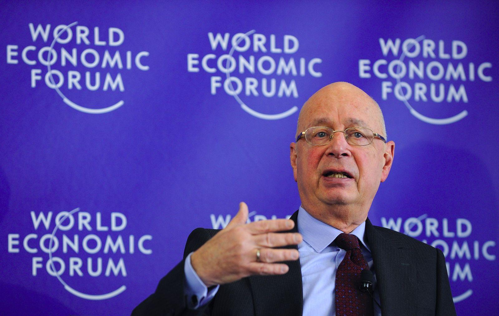 WEF Davos/ Schwab