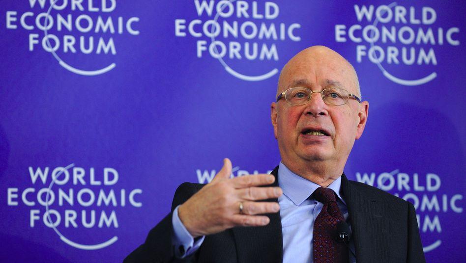 """Klaus Schwab, Gründer des World Economic Forums: """"Künstler setzen sich nicht zur Ruhe"""""""