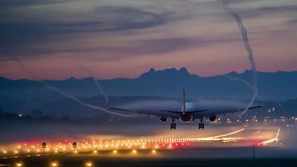Airbus der Fluggesellschaft Swiss International Airlines