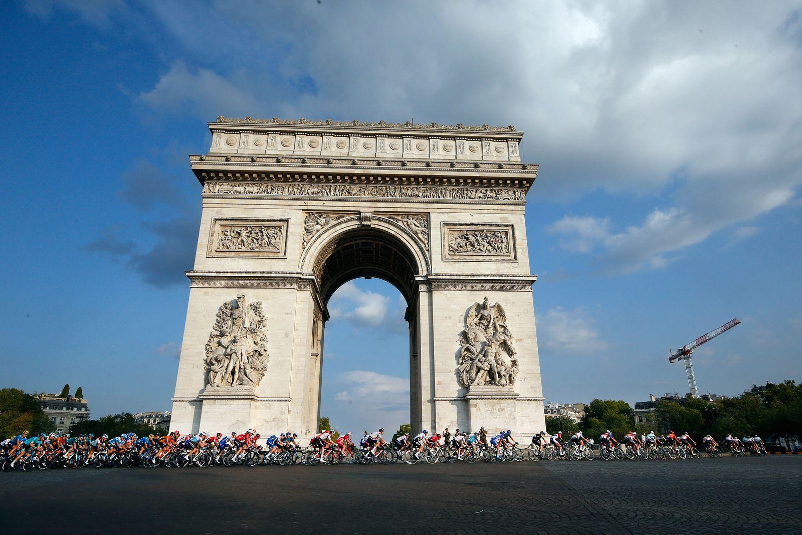 Tour de France 2020 - 21st stage, Paris - 20 Sep 2020