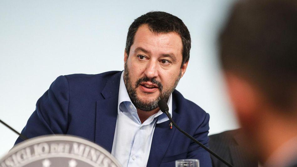 Italiens Vize-Premier Matteo Salvini