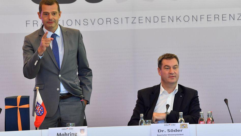 """Mike Mohring: """"Wir müssen den Vertrauensverlust stoppen"""""""