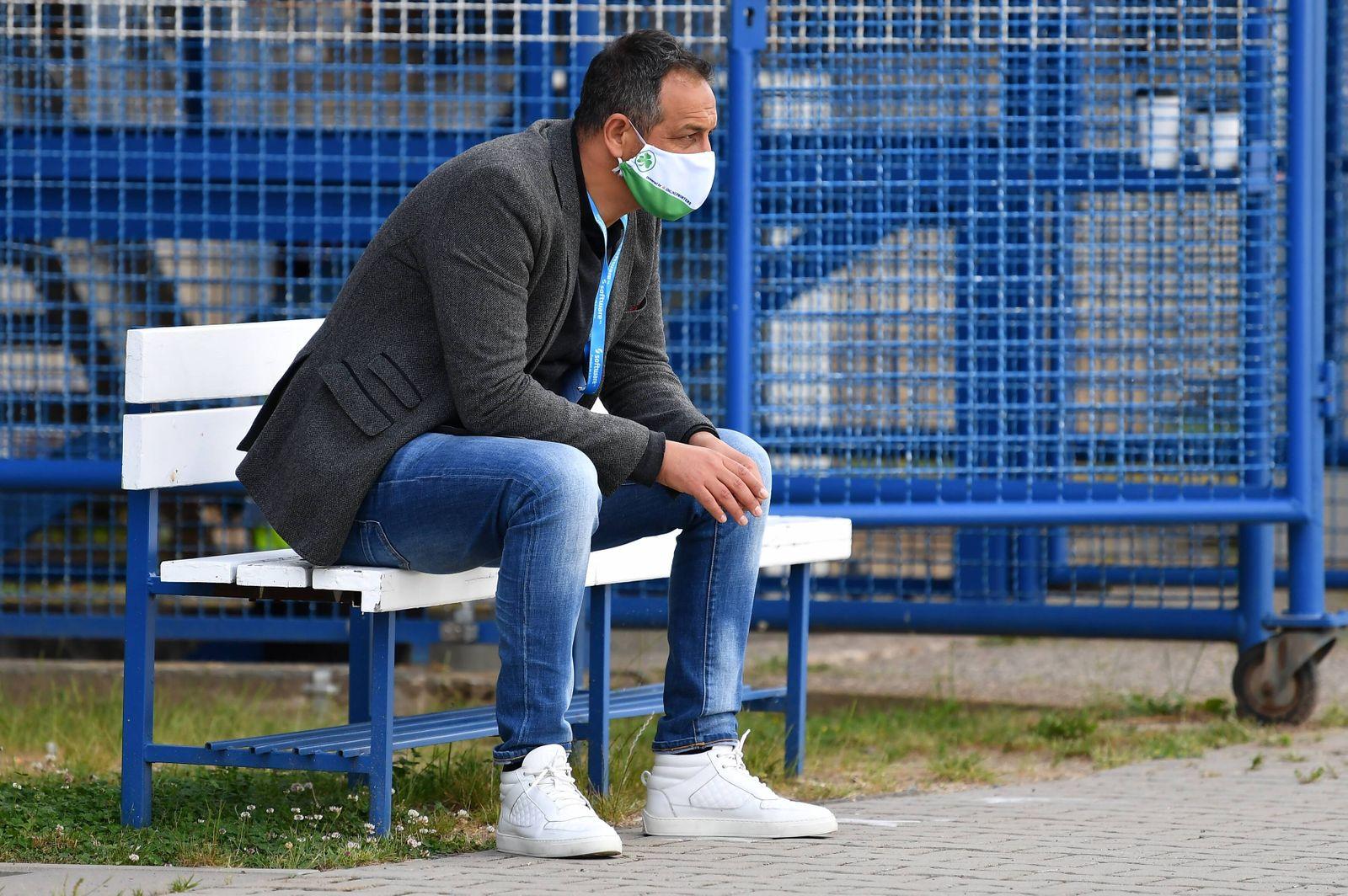 SV Darmstadt 98 - SpVgg Greuther Fuerth , 29.05.2020 29.05.2020 --- Fussball --- Saison 2019 2020 --- 2. Fussball - Bund