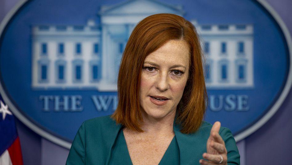Jen Psaki, Sprecherin des Weißen Hauses