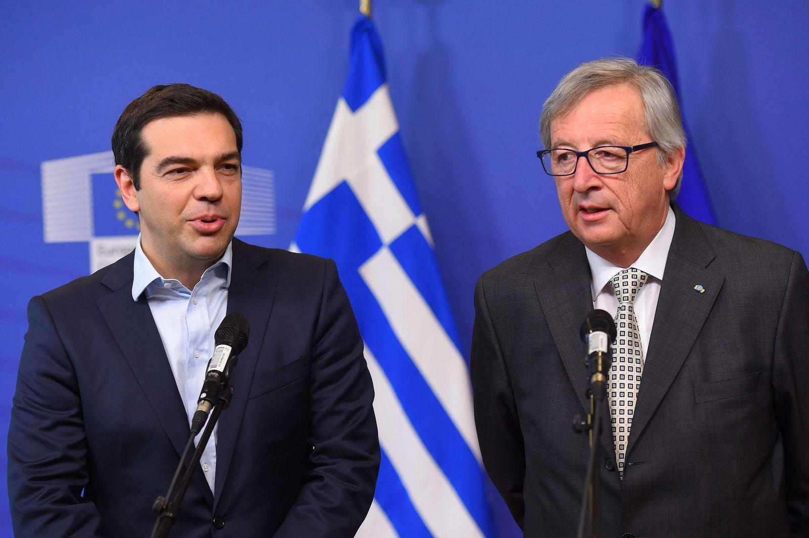 Juncker / Tsipras