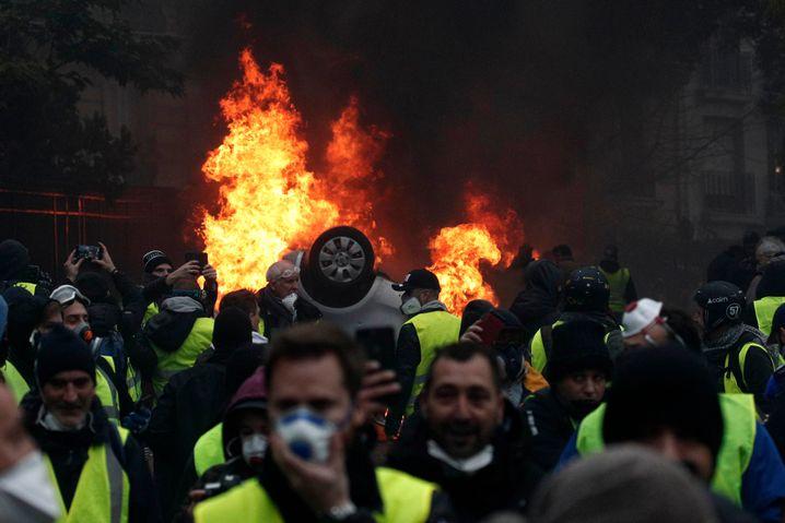 """""""Gelbwesten""""-Protest am vergangenen Wochenende"""