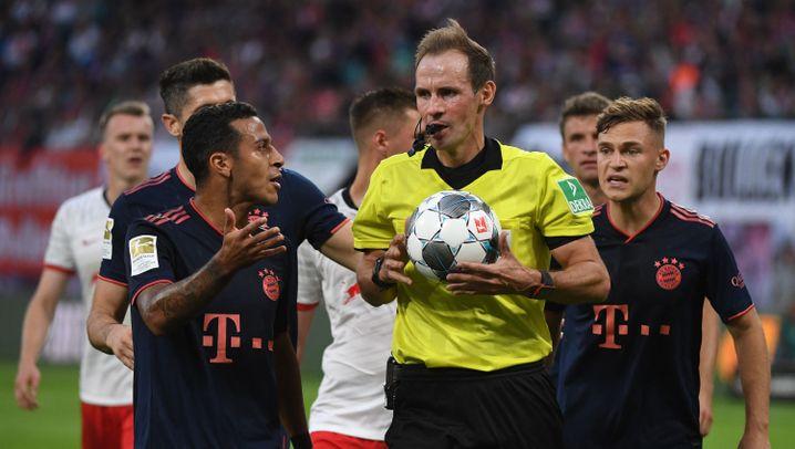 Fußball-Bundesliga: Das Remis im Spitzenspiel in Bildern