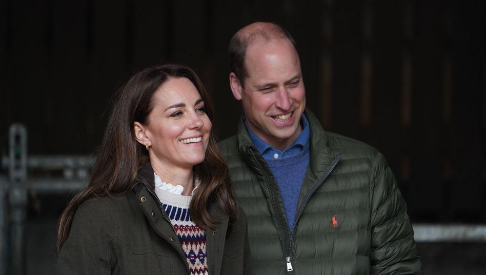 Royale YouTuber Herzogin Catherine, Prinz William: »Sei vorsichtig, was Du sagst, diese Leute filmen alles«