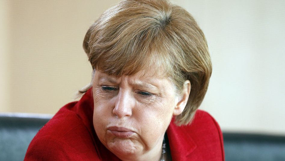 Sunday could be a tough day for Angela Merkel.