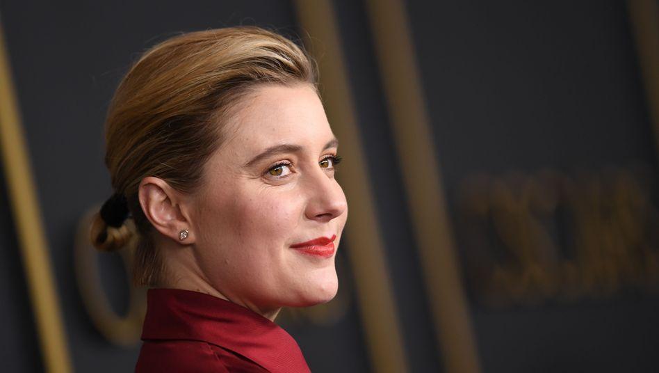 """Greta Gerwig beim traditionellen Oscar-Lunch: Ihr Film """"Little Women"""" ist sechsmal nominiert."""