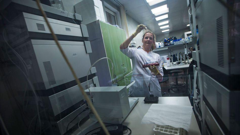 Labor der russischen Antidopingagentur in Moskau