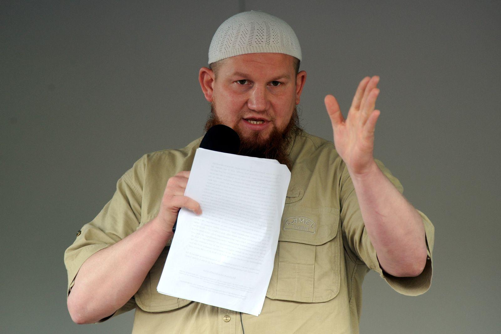 Salafisten-Prediger Pierre Vogel