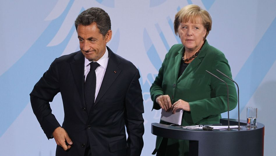 Kanzlerin Merkel, Präsident Sarkozy: Wird er durch François Hollande abgelöst?