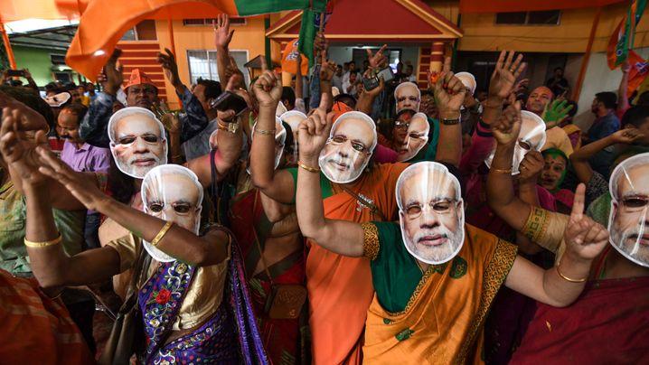 Wahlen in Indien: Alter Premier, neue Verhältnisse