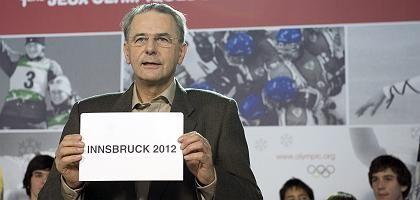 "IOC-Präsident Rogge: ""Riesige Chance"""