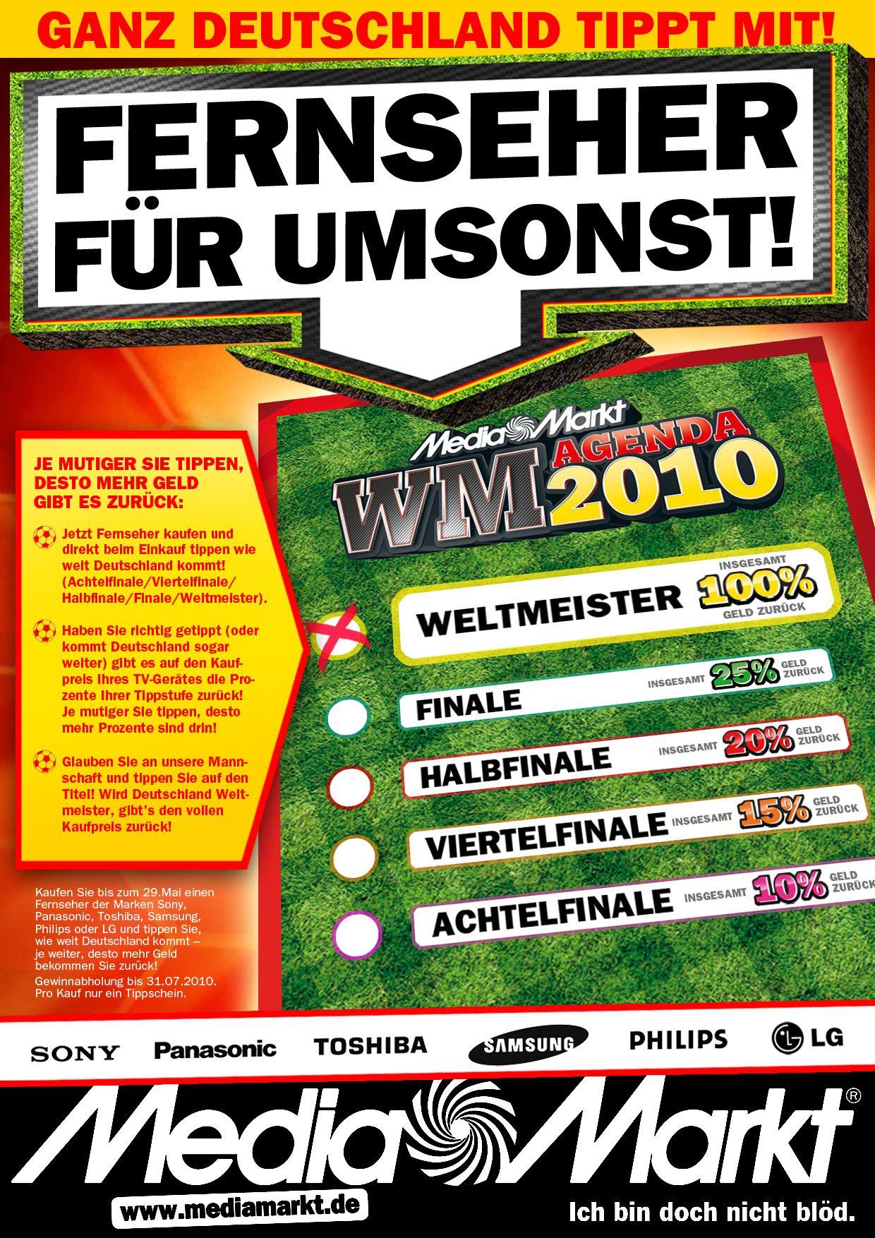 Media Markt WM-Gewinnspiel
