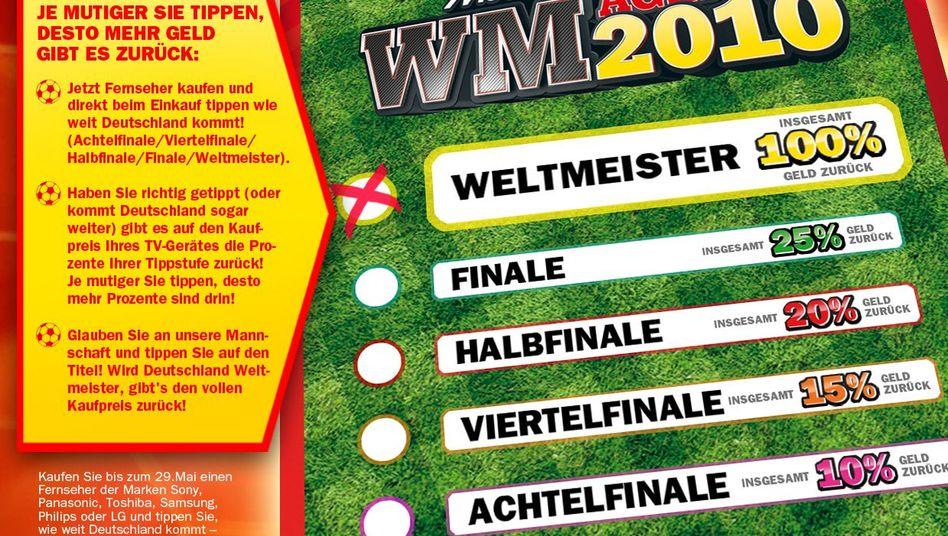 WM-Aktion von Media Markt: Spezielle Helfer sichern ab