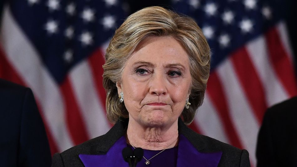 Verliererin Hillary Clinton