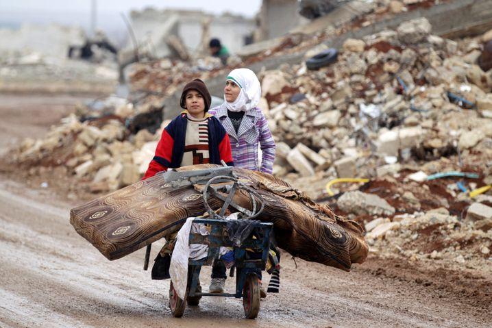 Flüchtlinge in Nordsyrien