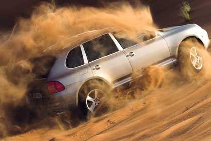 Porsche Cayenne Turbo S: Pro Kilometer strömen im Schnitt 378 Gramm CO2 aus den Auspuffrohren