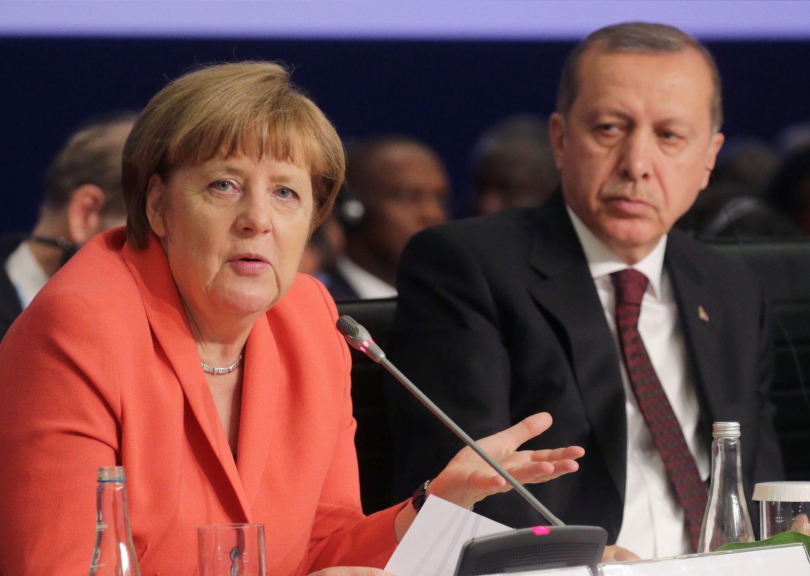 Armenien-Resolution - Merkel / Erdogan