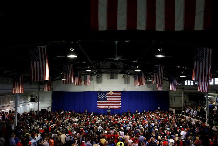 Trump in Delaware, Ohio