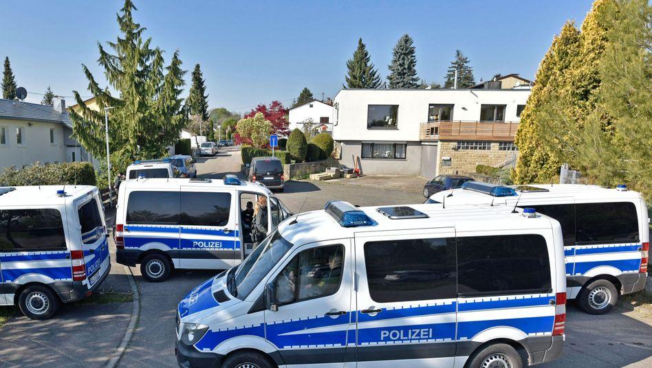 Polizeieinsatz in Rottenburg am Neckar