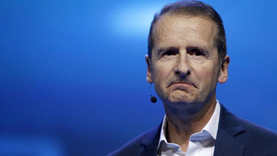 """VW-Markenchef Diess in Las Vegas: """"Zuversichtlich, dass wir eine akzeptable Lösung finden"""""""