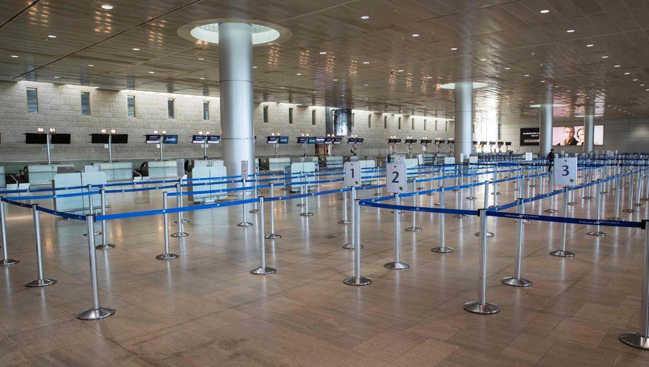 Flughafen in Tel Aviv