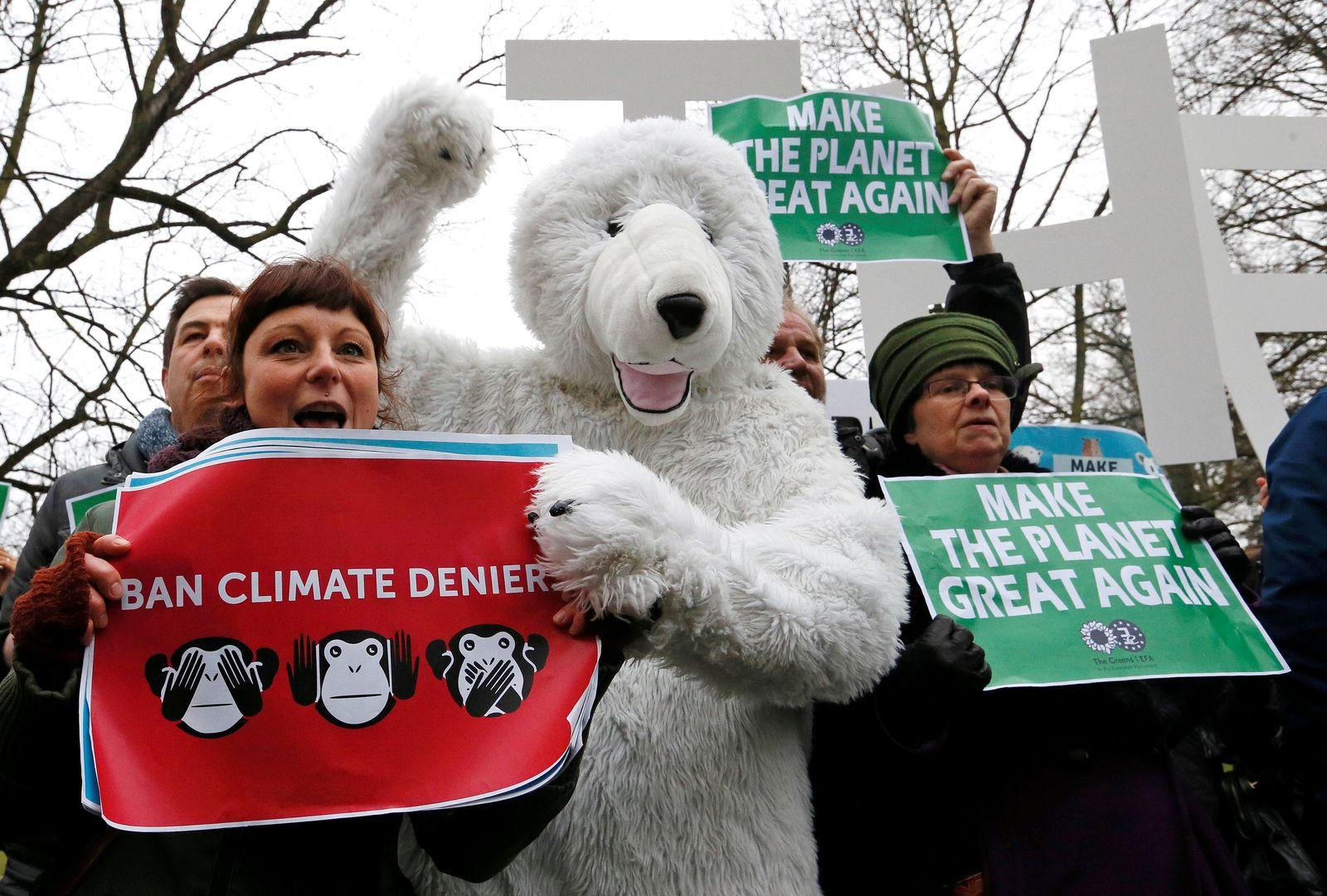 Klima / Trump / Proteste