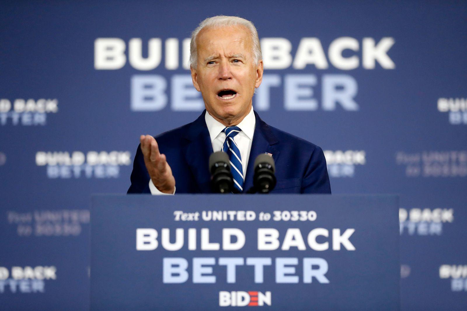 Wahlkampf in den USA - Biden