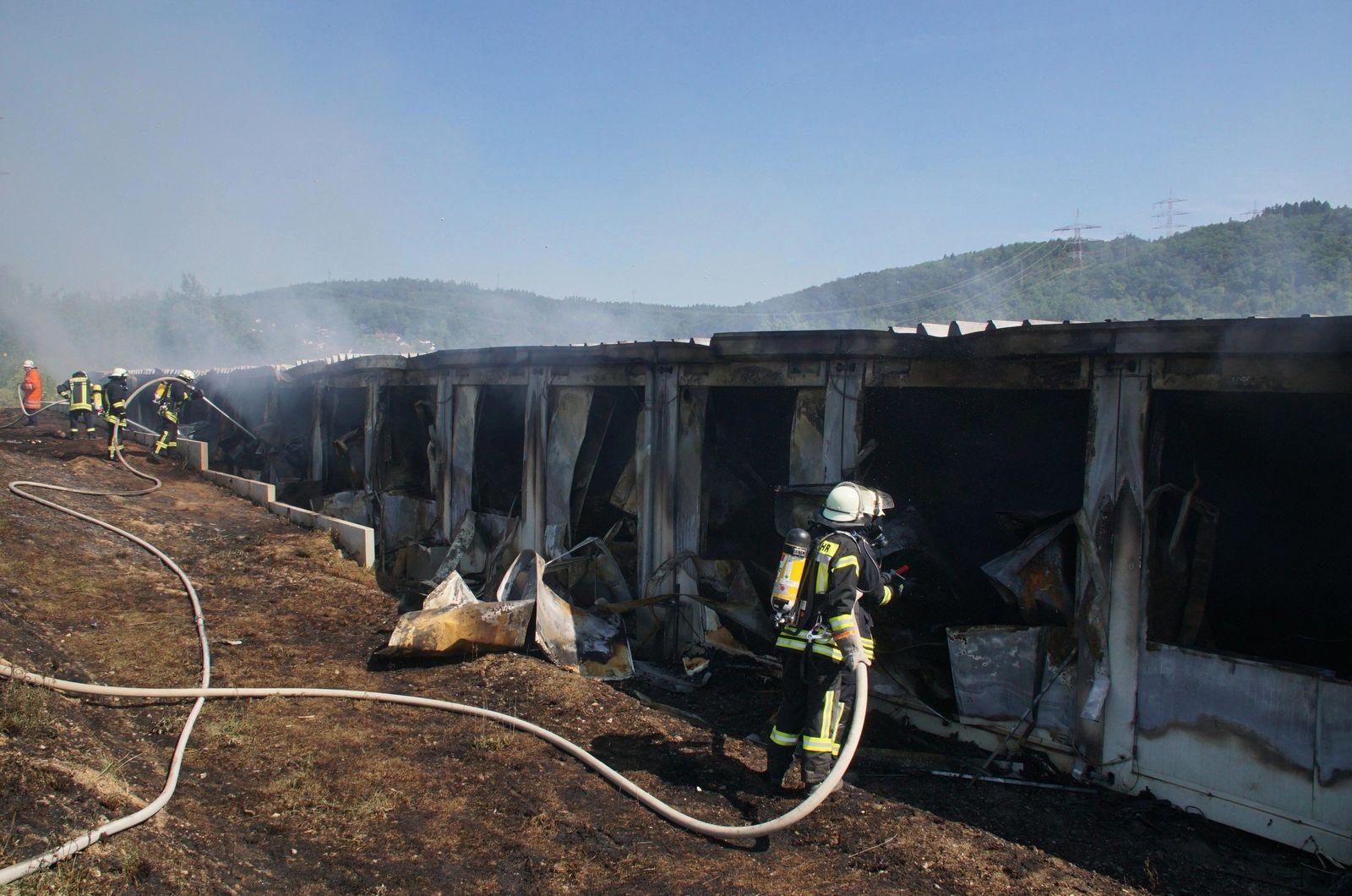 Brand Asylbewerberunterkunft Haßmersheim