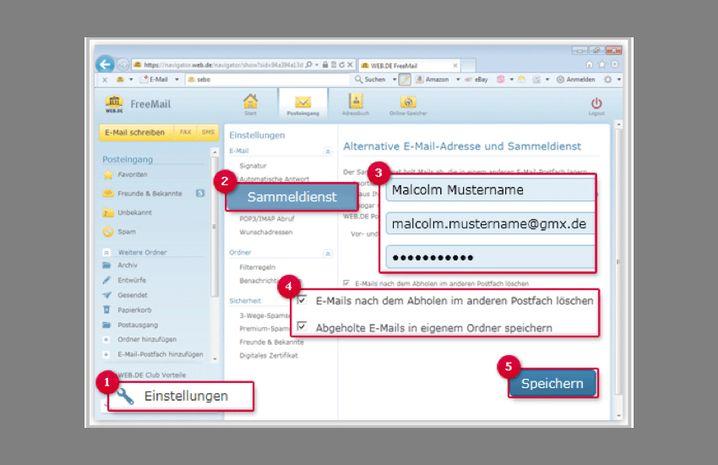 Umzugshilfe: Einige E-Mail-Provider bieten Neukunden einen Sammelservice an, um die alten E-Mails mitzunehmen