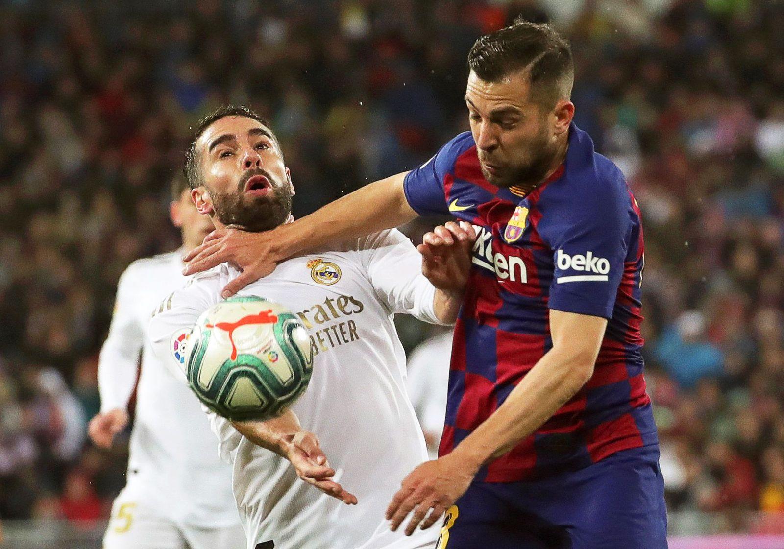 Real Madrid vs FC Barcelona, Spain - 01 Mar 2020