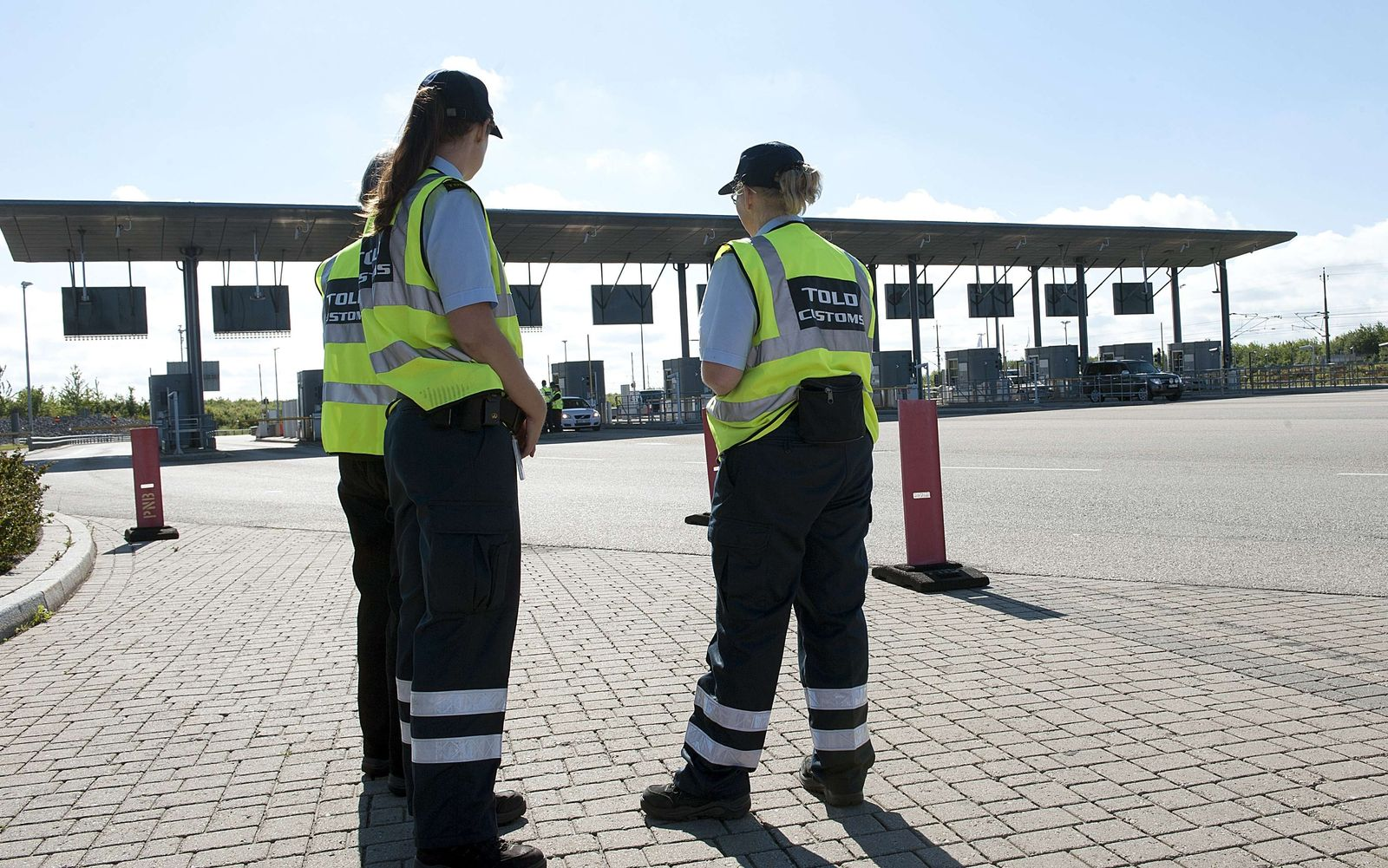 Grenze Dänemark/ Kontrollen