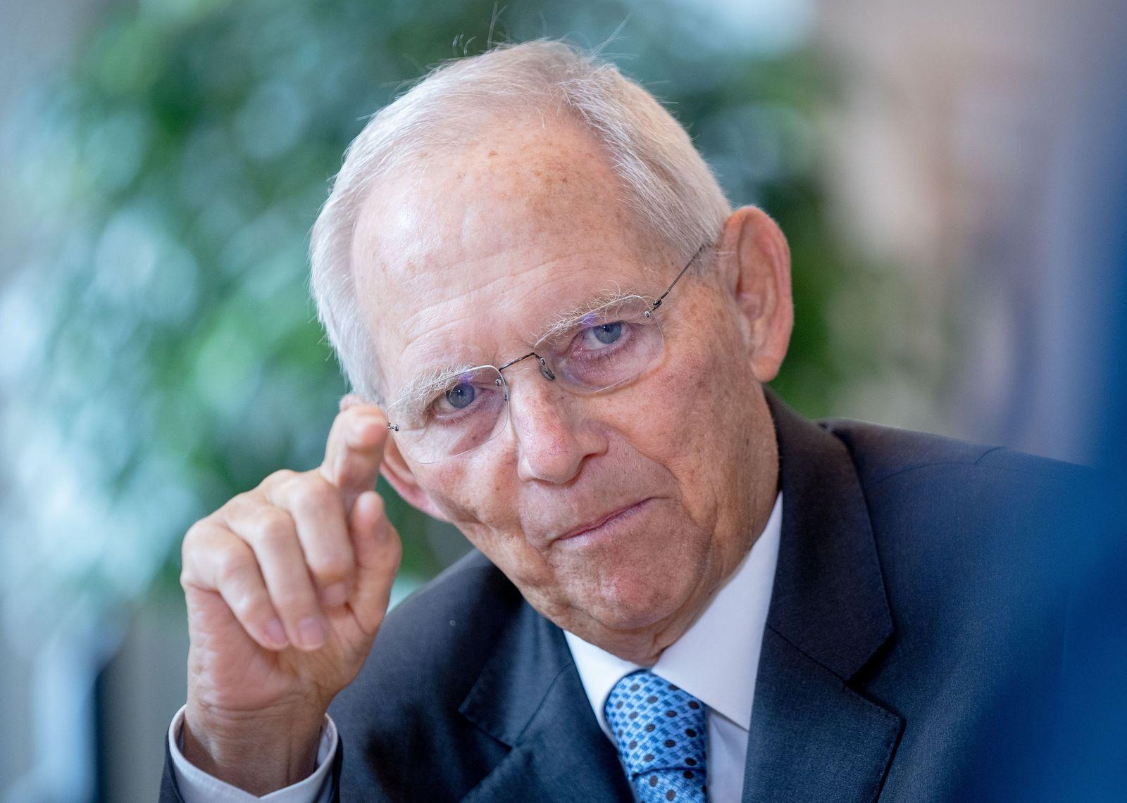 Schäuble über Frauen in der Politik