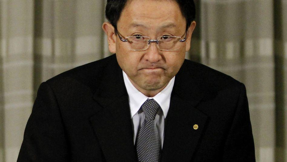 Toyota-Chef Akio Toyoda: Verbeugung vor Kunden und Öffentlichkeit
