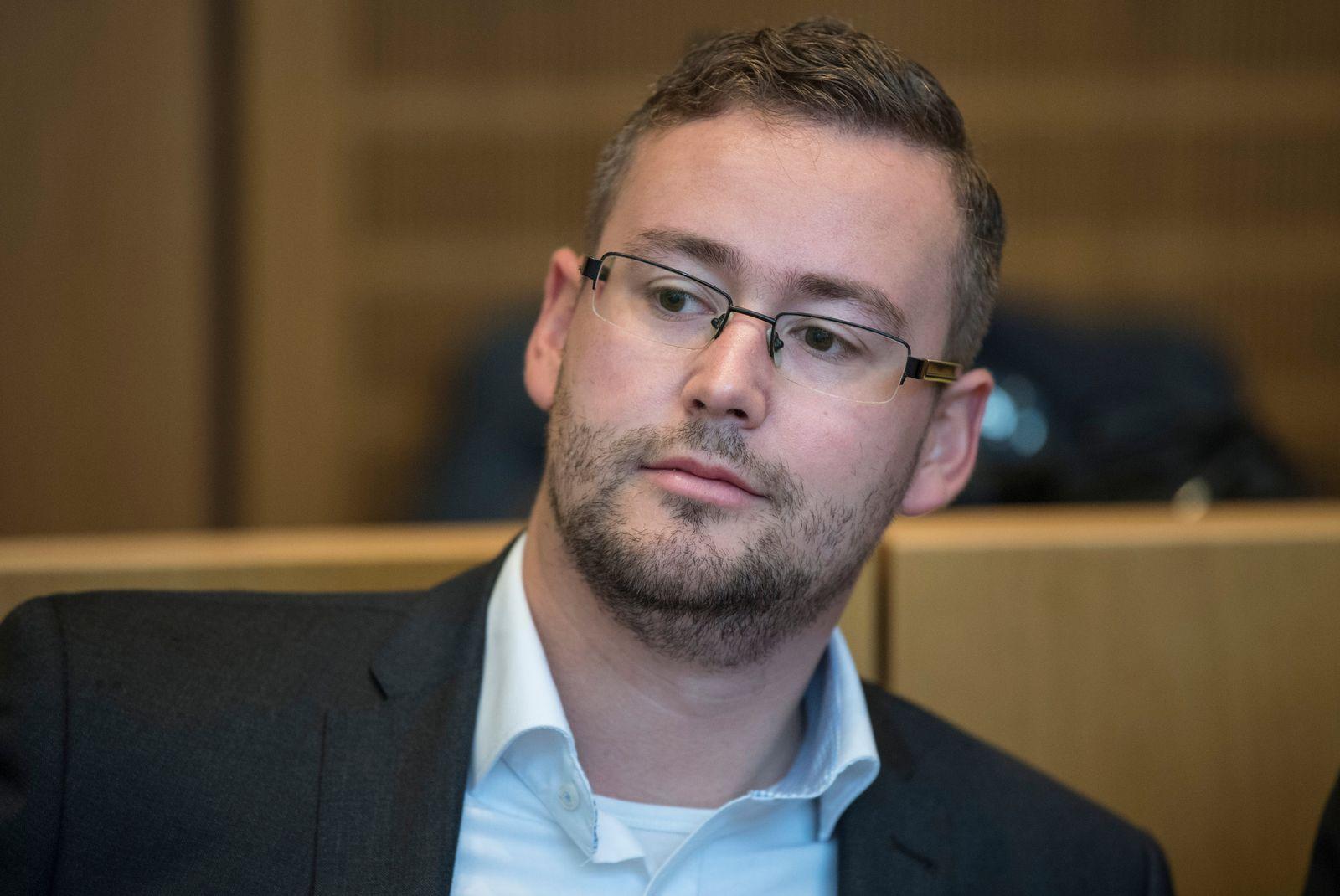 AfD-Politiker Sebastian Münzenmaier vor Gericht